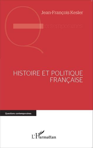 Couverture Histoire et politique française