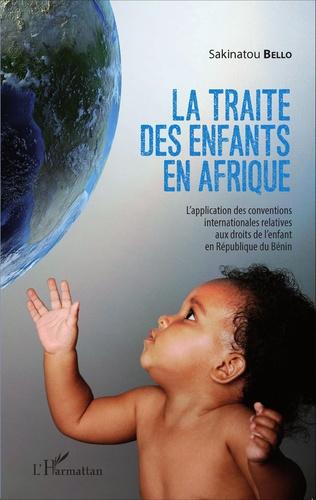 Couverture La traite des enfants en Afrique