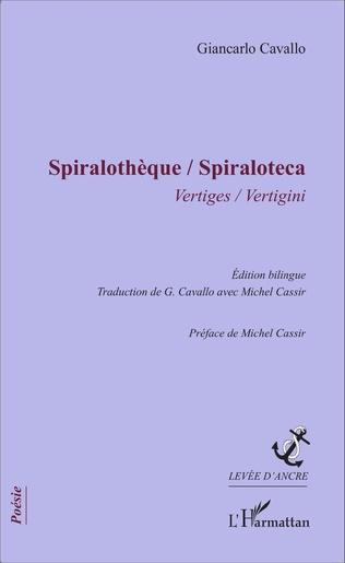 Couverture Spiralothèque / Spiraloteca