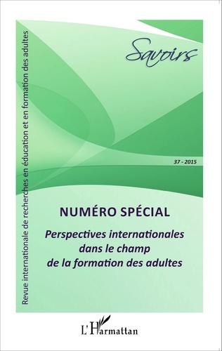 Couverture Perspectives internationales dans le champ de la formation des adultes