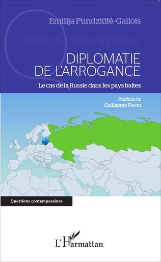 Couverture Diplomatie de l'arrogance