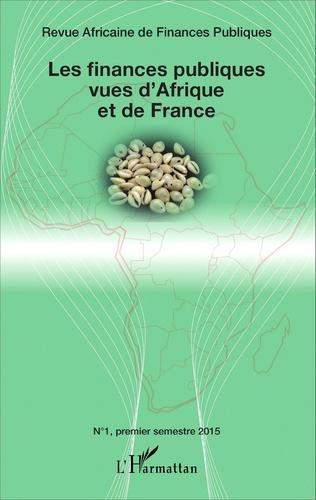 Couverture Les finances publiques vues d'Afrique et de France