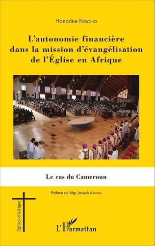 Couverture L'autonomie financière dans la mission d'évangélisation de l'Église en Afrique