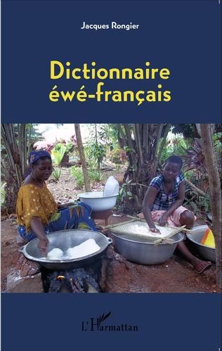 Couverture Dictionnaire éwé-français