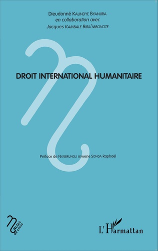 Couverture Droit international humanitaire