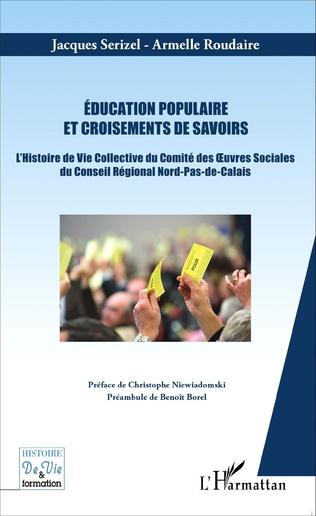 Couverture Education populaire et croisements de savoirs
