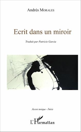 Couverture Écrit dans un miroir
