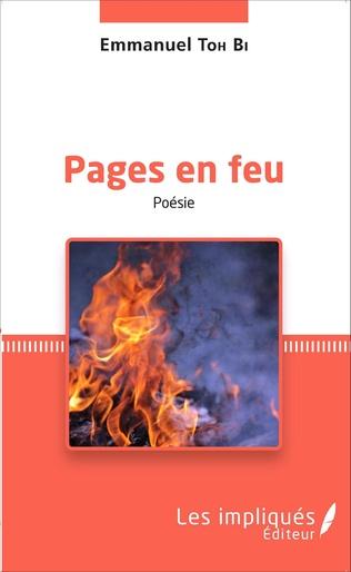 Couverture Pages en feu