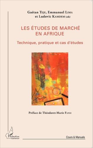 Couverture Les études de marché en Afrique