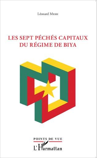 Couverture Sept péchés capitaux du régime Biya