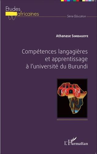 Couverture Compétences langagières et apprentissage à l'université du Burundi