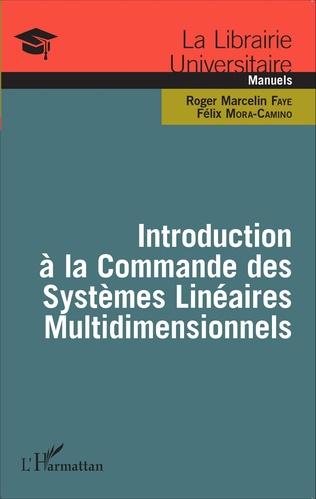 Couverture Introduction à la Commande des Systèmes Linéaires Multidimensionnels