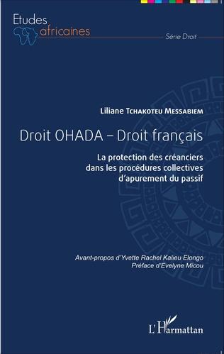 Couverture Droit OHADA - Droit français