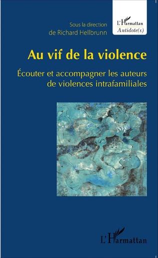 Couverture Au vif de la violence