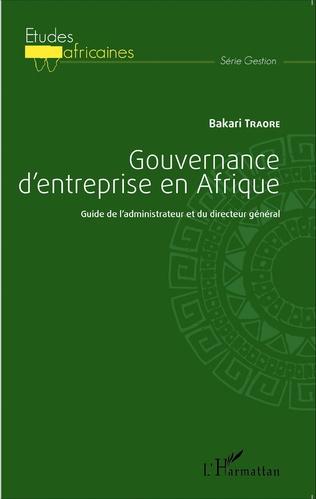 Couverture Gouvernance d'entreprise en Afrique