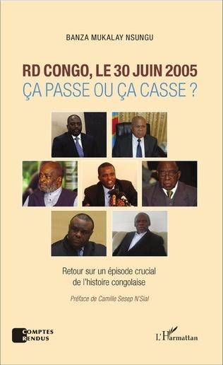 Couverture RD Congo, le 30 juin 2005