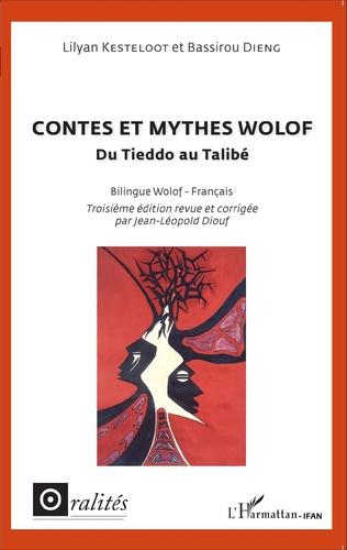 Couverture Contes et mythes wolof