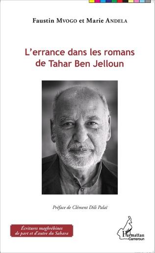Couverture L'errance dans les romans de Tahar Ben Jelloun