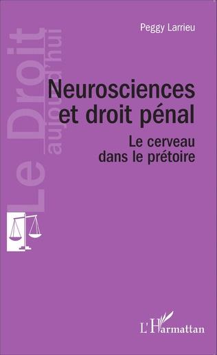 Couverture Neuroscience et droit pénal