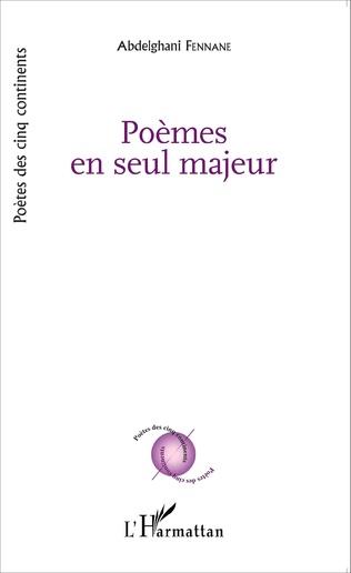 Couverture Poèmes en seul majeur