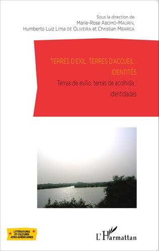 Couverture Terres d'exil, terres d'accueil : identités