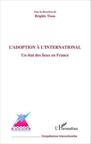 Couverture L'adoption à l'international