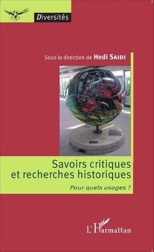Couverture Savoirs critiques et recherches historiques