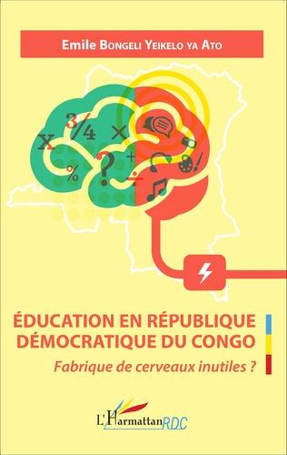 Couverture Éducation en République Démocratique du Congo