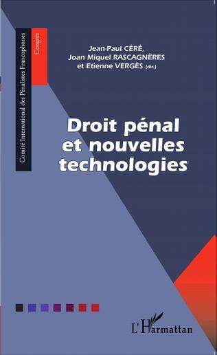 Couverture Droit pénal et nouvelles technologies