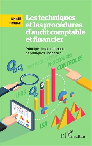Couverture Les techniques et les procédures d'audit comptable et financier