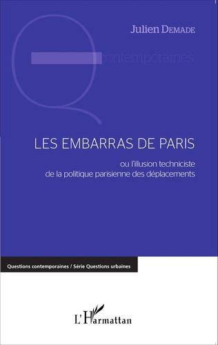 Couverture Les embarras de Paris