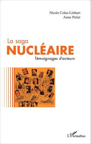 Couverture La saga nucléaire