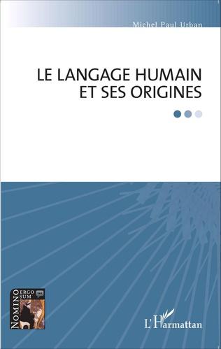 Couverture Le langage humain et ses origines