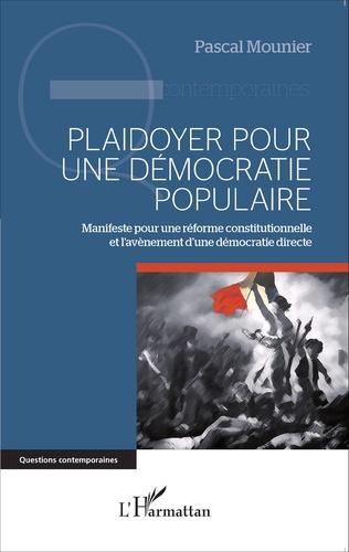 Couverture Plaidoyer pour une démocratie populaire