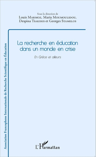 Couverture Recherche en éducation dans un monde en crise