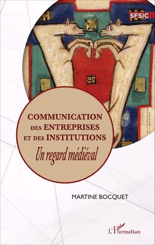 Couverture Communication des entreprises et des institutions