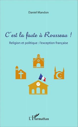 Couverture C'est la faute à Rousseau !