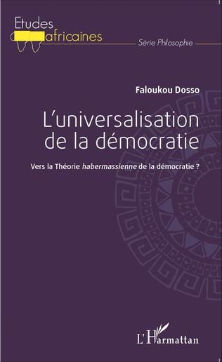 Couverture L'universalisation de la démocratie