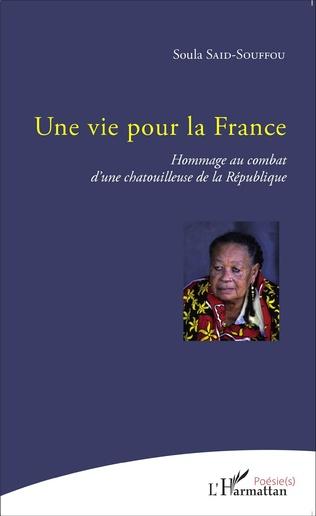 Couverture Une vie pour la France