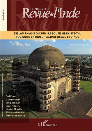 Couverture L'Islam en Asie du Sud - Le soufisme existe-t-il toujours en Inde ? - Charlie Hebdo et l'Inde