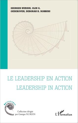 Couverture Le leadership en action    Leadership in action
