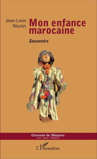 Couverture Mon enfance marocaine