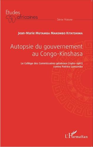 Couverture Autopsie du gouvernement au Congo-Kinshasa