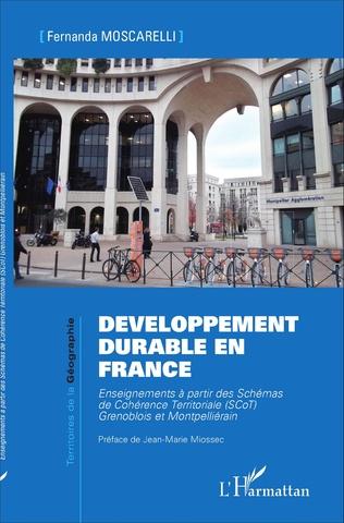 Couverture Développement durable en France