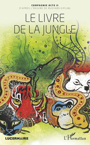 Couverture Le livre de la jungle