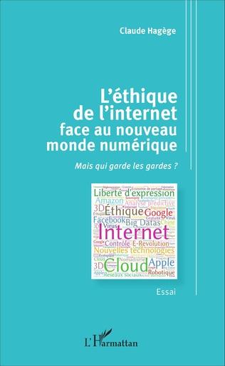 Couverture L'éthique de l'internet face au nouveau monde numérique