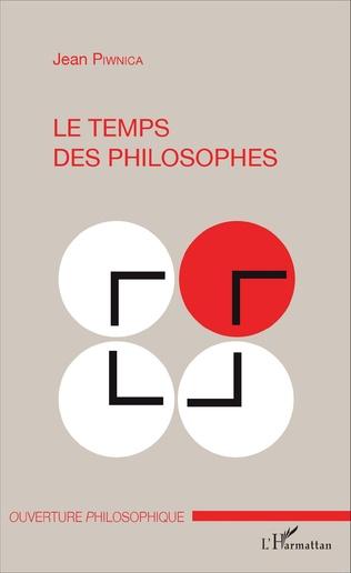 Couverture Le temps des philosophes