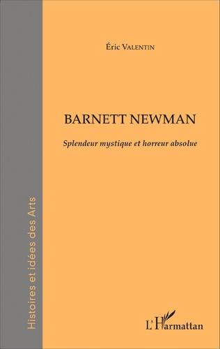 Couverture Barnett Newman