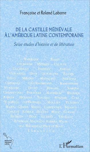 Couverture De la Castille médiévale à l'Amérique latine contemporaine