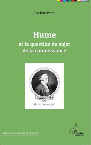 Couverture Hume et la question du sujet de la connaissance